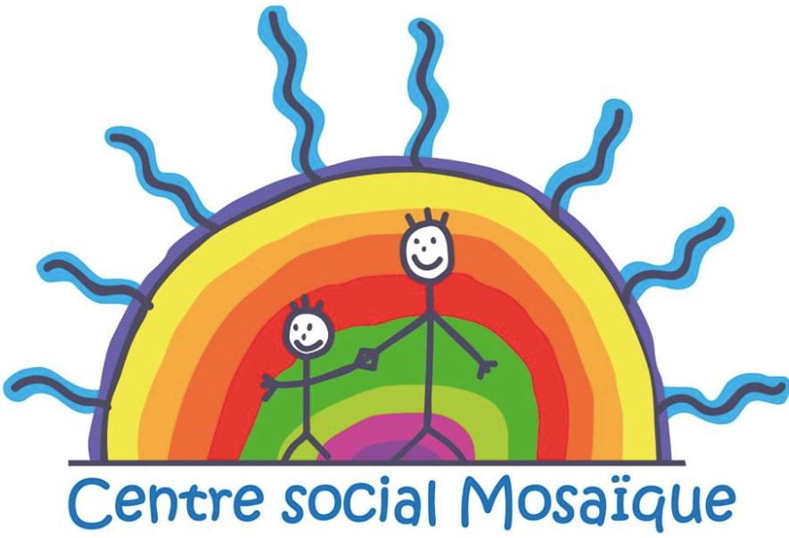 Logo du Centre Social Mosaïque de Chalamont