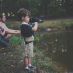 Pêche en famille dans la Dombes